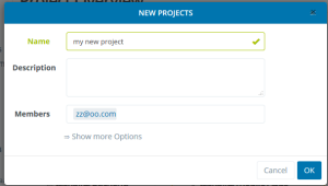 2 Projects   taskblitz   project focused team collaboration software   2015 10 03 12.55.07 300x170 New project overview, newsfeed